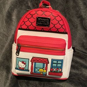 Hello kitty loungefly mini backpack new with tags